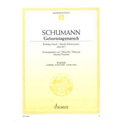 GEBURTSTAGSMARSCH OP 85/1 - broschei