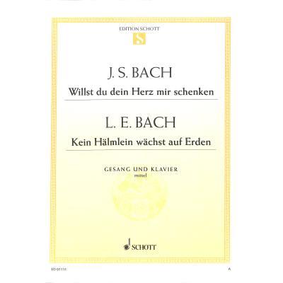 WILLST DU DEIN HERZ MIR SCHENKEN (BWV 518) + jetztbilligerkaufen