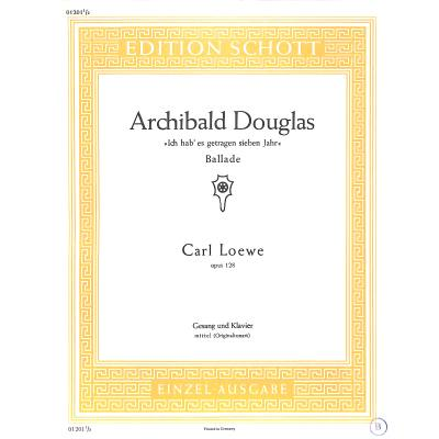 ARCHIBALD DOUGLAS OP 128 - broschei