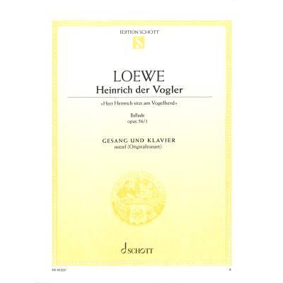 HEINRICH DER VOGLER OP 56/1 - broschei