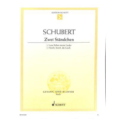 LEISE FLEHEN MEINE LIEDER D 957/4 + - broschei