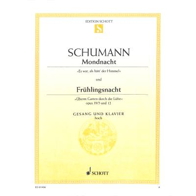 MONDNACHT OP 39/5 / FRUEHLINGSNACHT jetztbilligerkaufen