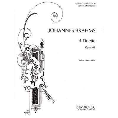 4 Duette Op 61