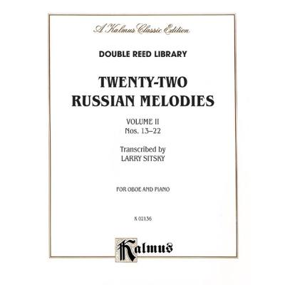 22 RUSSIAN MELODIES 2 (13-22)