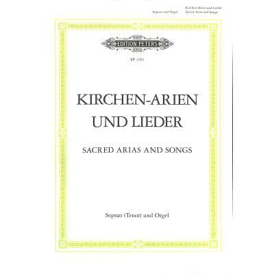 KIRCHENARIEN + LIEDER