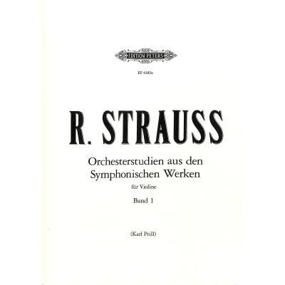 orchesterstudien-violine-heft-1