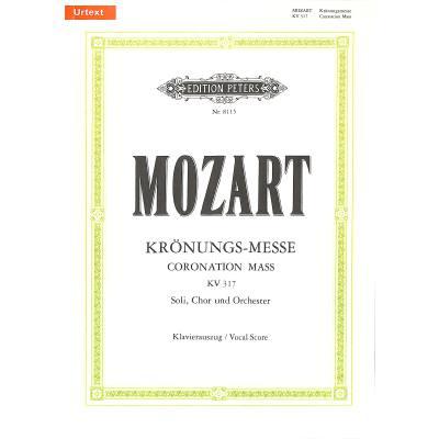 Missa C-dur Kv 317 (kroenungsmesse)