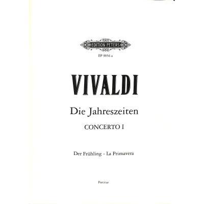 Konzert E-Dur op 8/1 RV 269 PV 241 F 1/22 T 76 (La primavera - der fruehling)