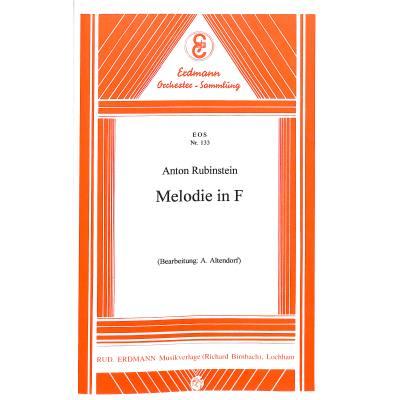 Melodie F-Dur op 3/1