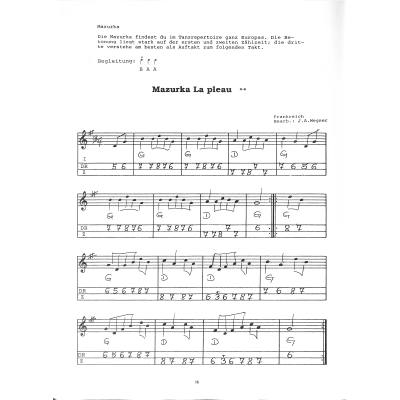 Neue Schule für zweireihige Handharmonika diat diatonische Handharmonika Noten