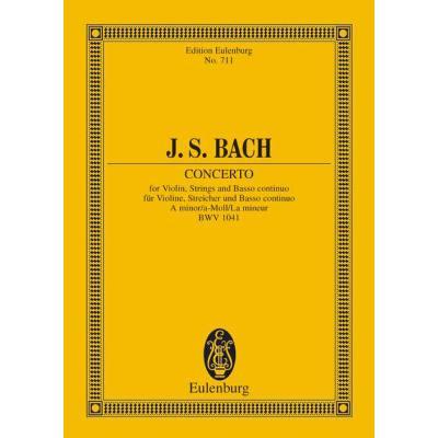 KONZERT 1 A-MOLL BWV 1041 - broschei