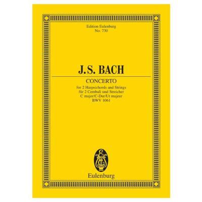 KONZERT C-DUR BWV 1061