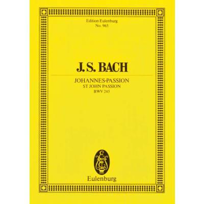 JOHANNES PASSION BWV 245 - broschei