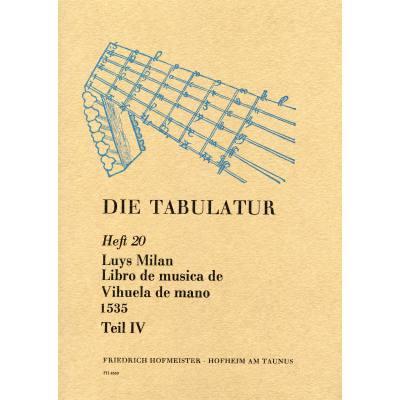 LIBRO DE MUSICA DE VIHUELA BD 4