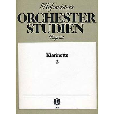 ORCHESTERSTUDIEN 2