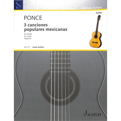 Tres canciones populares mexicanas