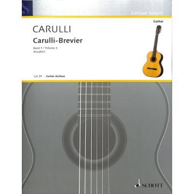 Carulli Brevier 3