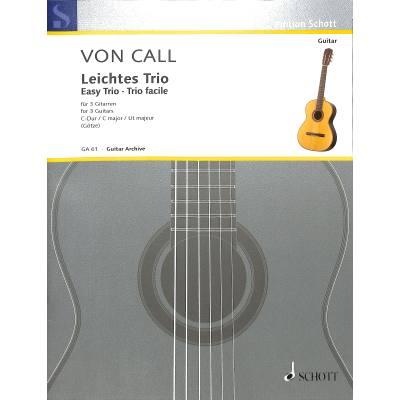 Leichtes Trio C-Dur op 26