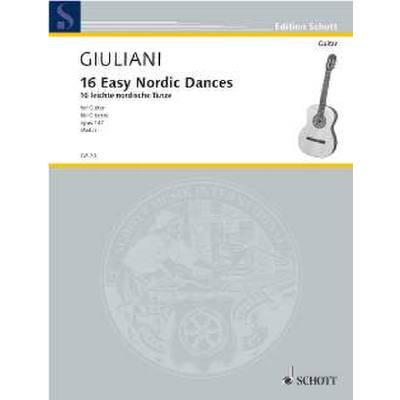 16 leichte nordische Tänze op 147