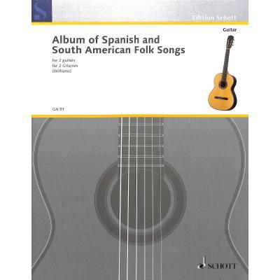 album-spanischer-sudamerikanischer
