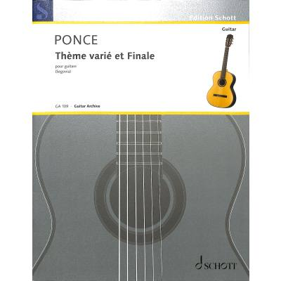 Theme Varie + Finale