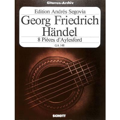 8 Aylesford pieces