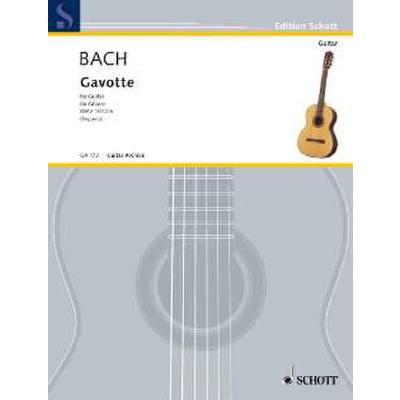 Gavotte E-Dur aus BWV 1012