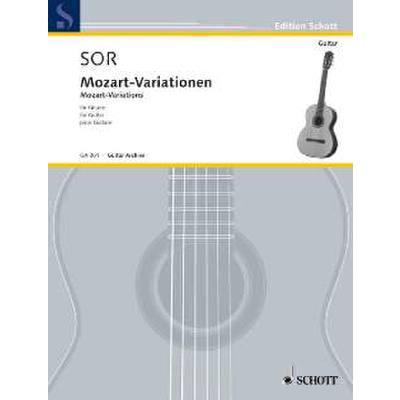 Mozart Variationen op 9