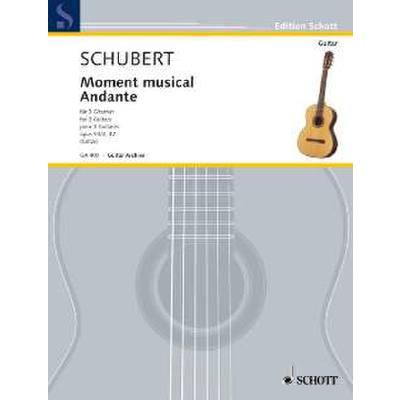 Moment musical op 94/3 D 780 + Andante aus Sonate a-moll op