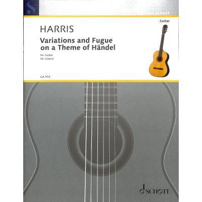 Variationen + Fuge über ein Thema von Händel op 24