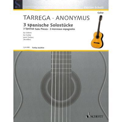 3 spanische Solostücke