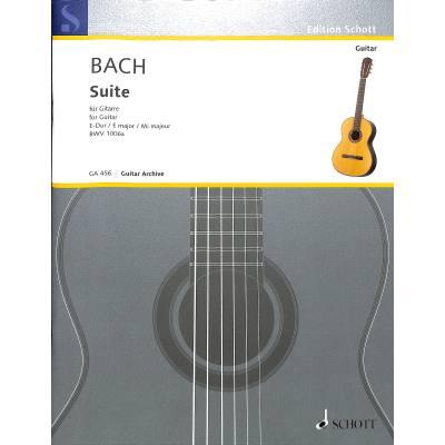 Suite E-Dur BWV 1006a