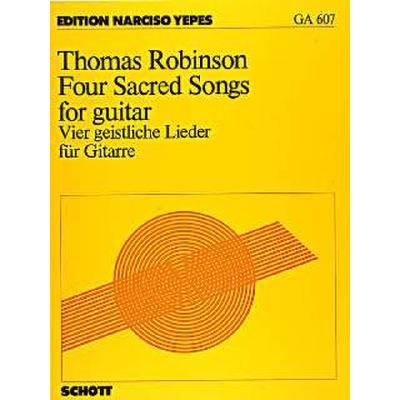 4 geistliche Lieder