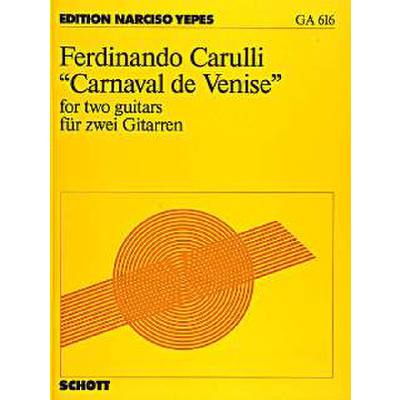 Carnaval de venise (Introduktion Thema)