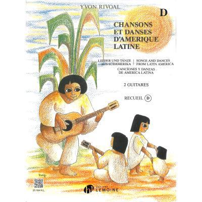 Chansons et danses d'amerique latine d