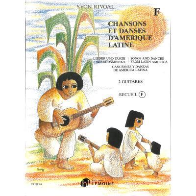 Chansons et danses d'amerique latine f