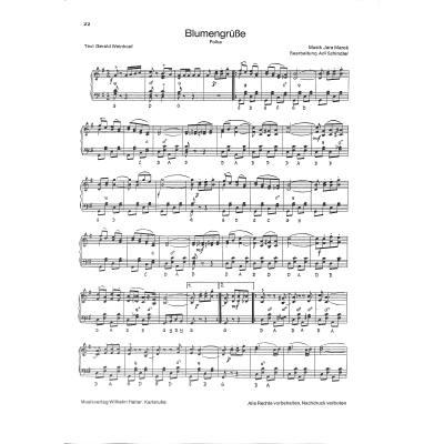 Happy Birthday Querflote Klavier Traditional Geburtstag