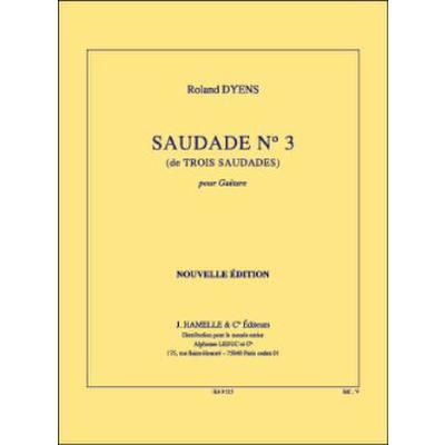 Saudade 3 (aus Trois Saudades)