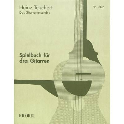 Spielbuch für 3 Gitarren