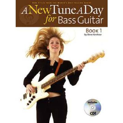 A new tune a day for bass guitar 1
