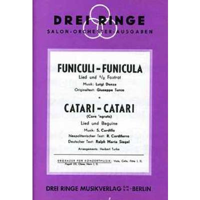 FUNICULI FUNICULA + CATARI - broschei