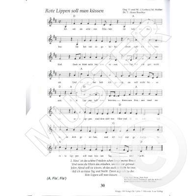 100 Songs Für 3 Plus 3 Akkorde Notenbuchde