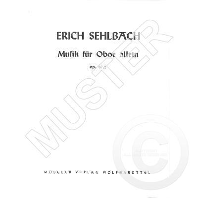 Musik Fuer Oboe Allein Op 87/2