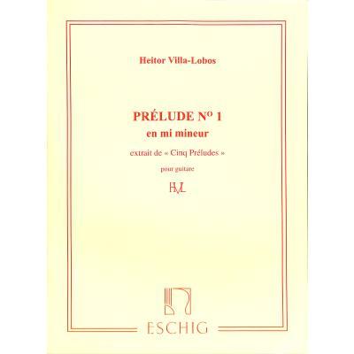 Prelude 1 e-moll (5 Preludes 1)