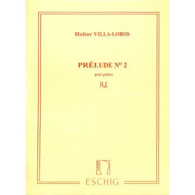 PRELUDE 2 E-DUR (5 PRELUDES 2)