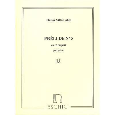 Prelude 5 D-Dur (5 Preludes 5)