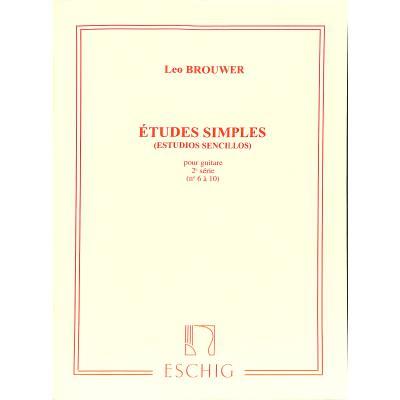 ETUDES SIMPLES 2 (6-10)