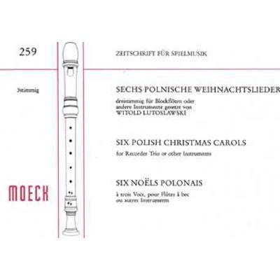 Polnische Weihnachtslieder Texte.6 Polnische Weihnachtslieder Notenbuch De