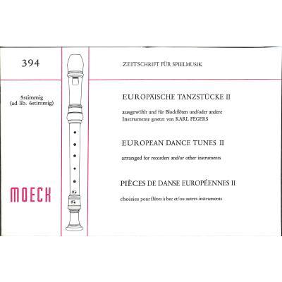 Europäische Tanzstücke 2