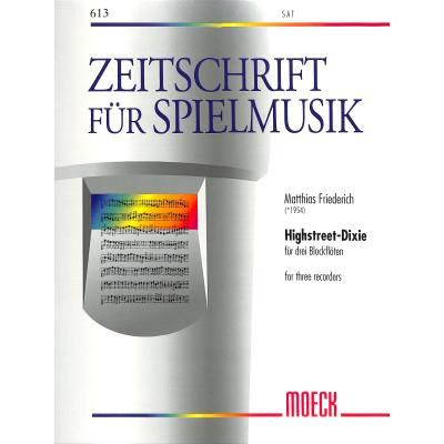 highstreet-dixie, 3.00 EUR @ notenbuch-de